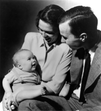 George and Barbara Bush with their first born ...