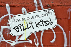 GREED I$ GOOD