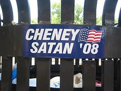 """Cheney Satan '08"""