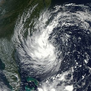 Tropical Storm Gustav is hovering off the coas...