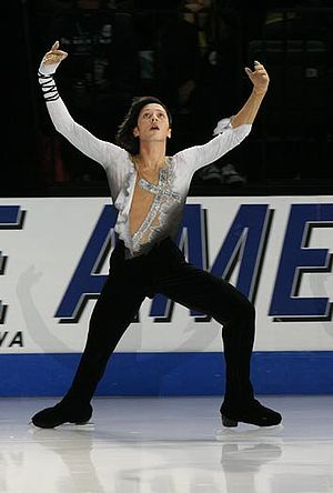Weir performs an Ina Bauer during his exhibiti...