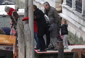 VENICE, ITALY - MARCH 07:  Pax Jolie-Pitt and ...
