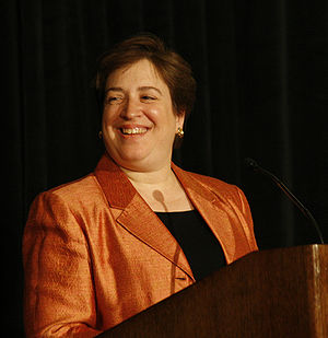 Harvard law school dean Elena Kagan