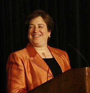 Harvard law school dean Elena Kagan