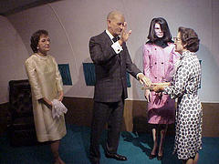 LBJ takes the oath
