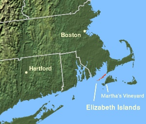 The Elizabeth Islands, off the coast of Massac...