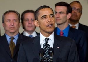 US President Barack Obama speaks on Chrysler's...