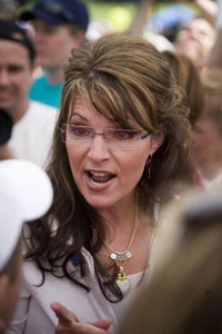 Sarah Palin appears in Purchase, NY in June 2009 (Michael Nagle/Getty)