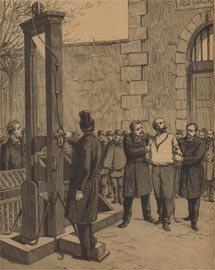 Auguste Vaillants execution.