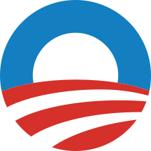 Barack Obama's logo, designed by Sender LLC.