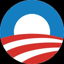 Barack Obama's logo, designed by Sender LLC.