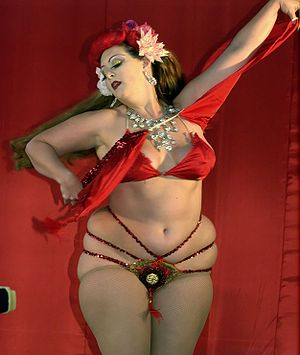 Burlesque star Miss Dirty Martini at the 2009 ...