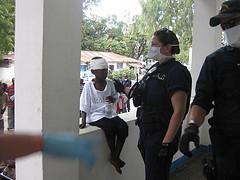 Coast Guard treating Haitians